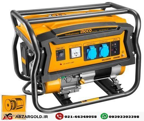 ژنراتور برق بنزینی 3500 وات اینکو مدل GE35006